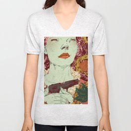 Gonzo Girls vs Sleeping Beauties Unisex V-Neck