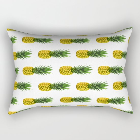 Pineapple Pattern Rectangular Pillow