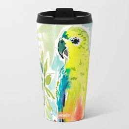 CUTIE the Orange-bellied Parrot Travel Mug