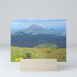 Camping El Hoyo, Nicaragua Mini Art Print
