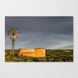 WINDPUMP Canvas Print