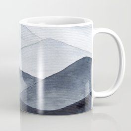 Watercolor Mountains Coffee Mug