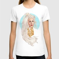 versace T-shirts featuring Versace Venus by Helen Green