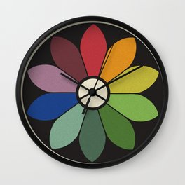 James Ward's Chromatic Circle Wall Clock