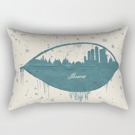 Frozen Moscow Rectangular Pillow