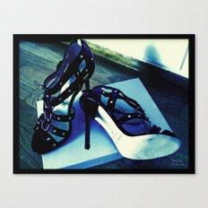 Shoes - Jimmy Choo sandals Canvas Print