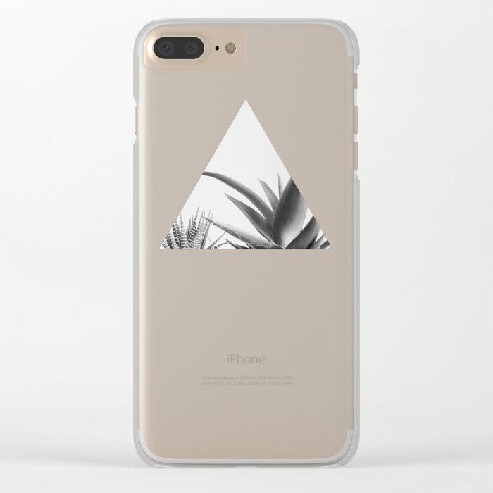 Succulents II Clear iPhone Case