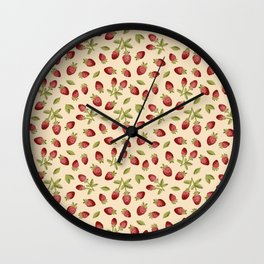 Little House on the Berry Wall Clock