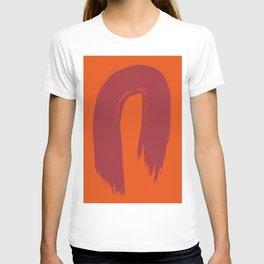 Laranja vermelho 01 T-shirt
