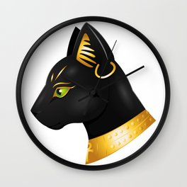 Bastet Wall Clock