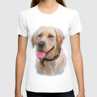 labrador T-shirts featuring Labrador by OLHADARCHUK