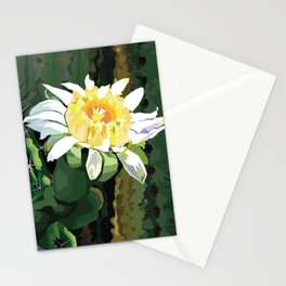 Cactus Flower Stationery Cards