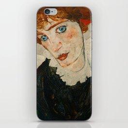 """Egon Schiele """"Portrait of Wally Neuzil"""" iPhone Skin"""