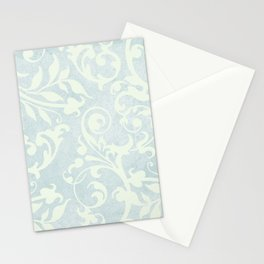 Shabby Chic Damask Stationery Cards