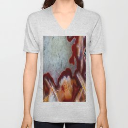 Condor Agate Sagenite Unisex V-Neck