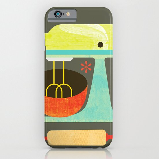 Kitchen Mix & Roll iPhone & iPod Case