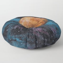 Mars and Stars Floor Pillow