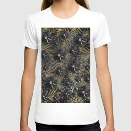 Tropical Diamond Flowers #2 #shiny #chic #floral #palms #decor #art #society6 T-shirt