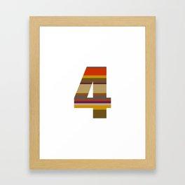 4 Who? Framed Art Print