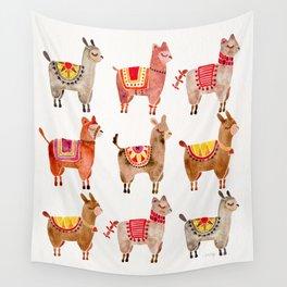 Alpacas Wall Tapestry