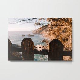 Big Sur Love Metal Print