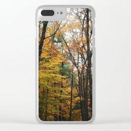 scrambled in branches Clear iPhone Case