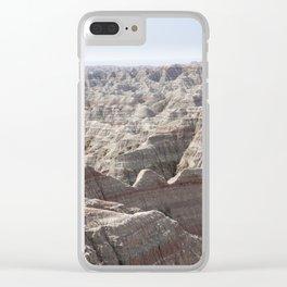 Fantastic Badlands Clear iPhone Case
