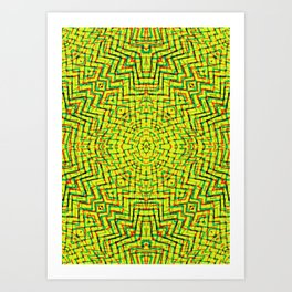Mystic Labyrinth  Art Print