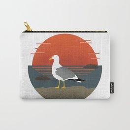 Sunset Seabird Carry-All Pouch