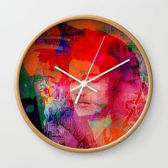 Slice of America Wall Clock