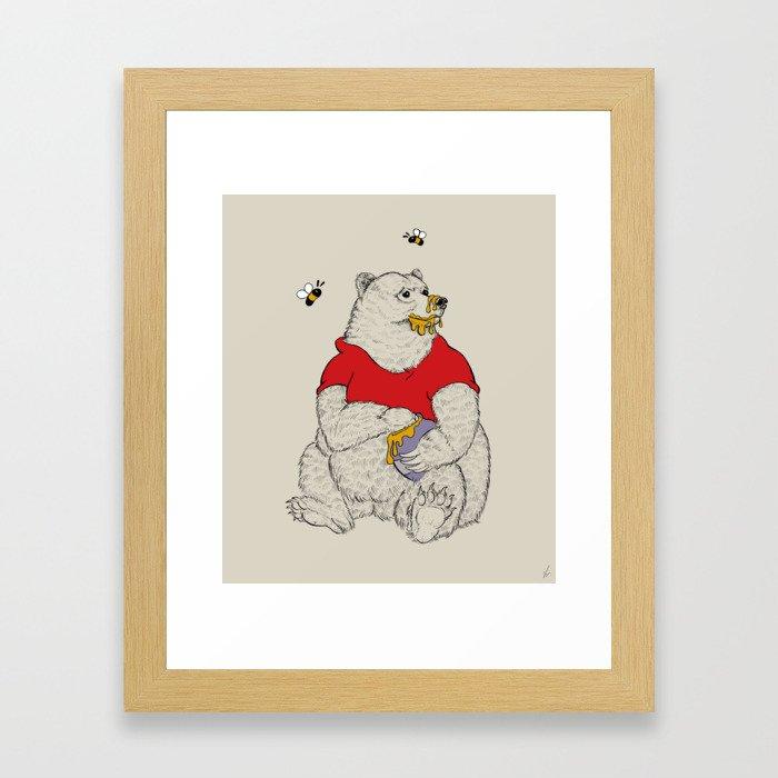 Silly ol' Bear Framed Art Print