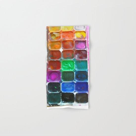 Watercolours Hand & Bath Towel