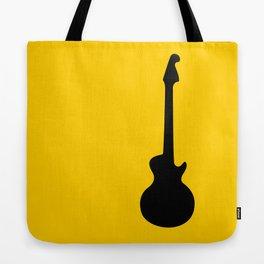 Simple Guitar Tote Bag