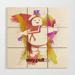 stay.puft.inc Wood Wall Art