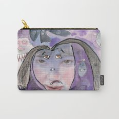 I feel scared Carry-All Pouch