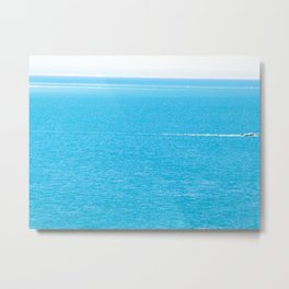 The Sea Metal Print