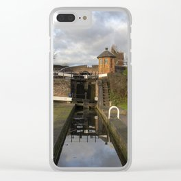 Bratch Locks landscape Clear iPhone Case