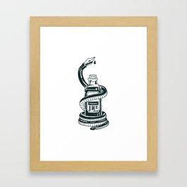 Blood of The Serpent Framed Art Print