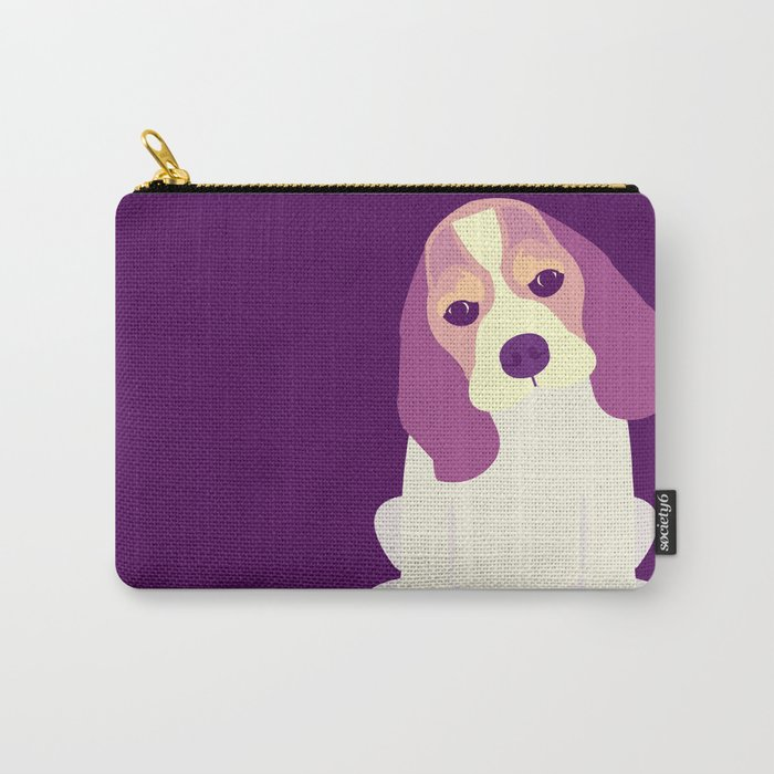 Cute Beagle Puppy Carry-All Pouch