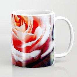 Adorable White and Pink Rose Coffee Mug