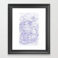 La Brothers Framed Art Print