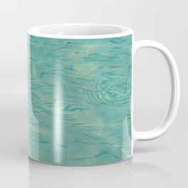 Swimming in the Clear Tropical Water Coffee Mug