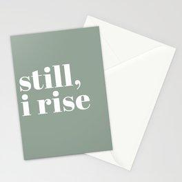 still I rise XV Stationery Cards