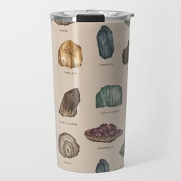 Gems and Minerals Travel Mug