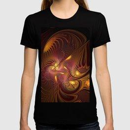 Coming Home, Abstract Fantasy Fractal Art T-shirt