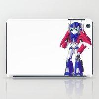 optimus prime iPad Cases featuring Optimus Prime by Crow