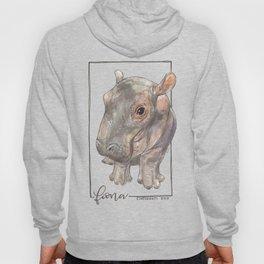Fiona the Hippo - Bashful Hoody