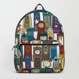time and space white Backpack