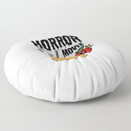 love apple Paradies Horror Movie Halloween Fruit Gift Present Scarry Chocolate Floor Pillow