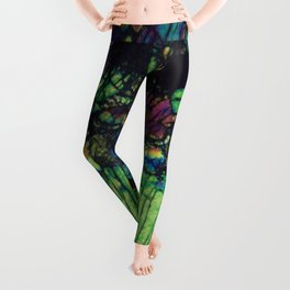 Pyroxene Crystals Leggings